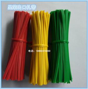 深圳扎带厂家直销电网线扎带 数据线扎线 铁芯包胶扎线 包塑葡萄