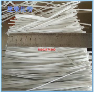 厂家直销PE铁芯扎带 包胶铁丝 PVC椭圆扎带 自动扎线机扎线